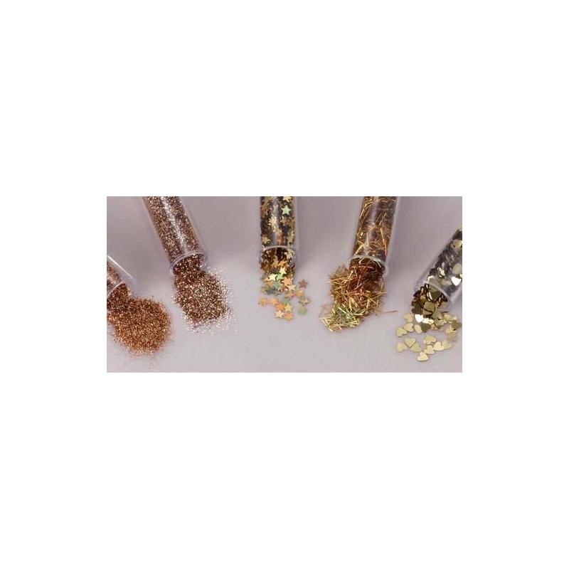 Glitterpurude assortii 1,8g*5tk Kuldne/Gala