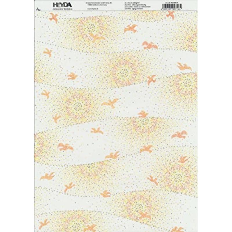 Disainkartong/paber A4 Mosaik Sonne 200g/m2