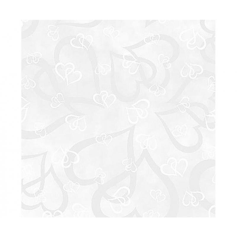 Transparent paber A4 115g/m2 valged südamed
