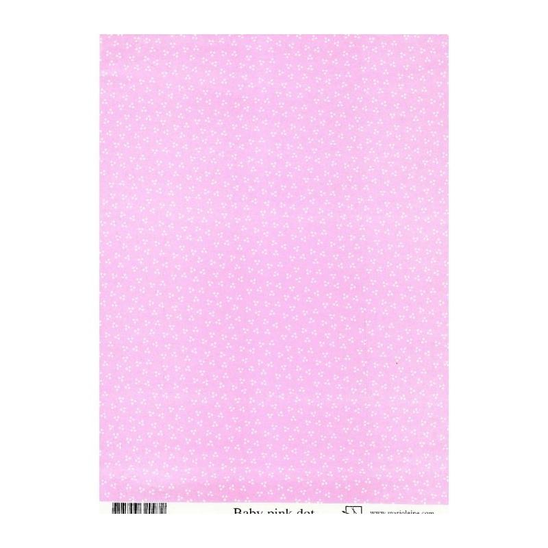Paber A4 roosa täpikestega 110 g/m2