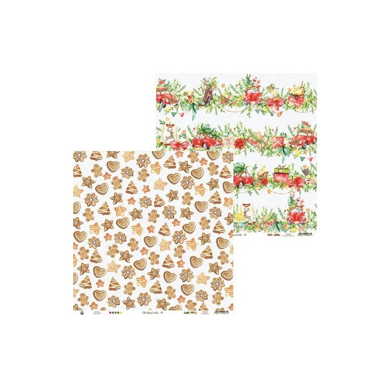 Disainpaber Christmas Treats 30,5*30,5 cm 02