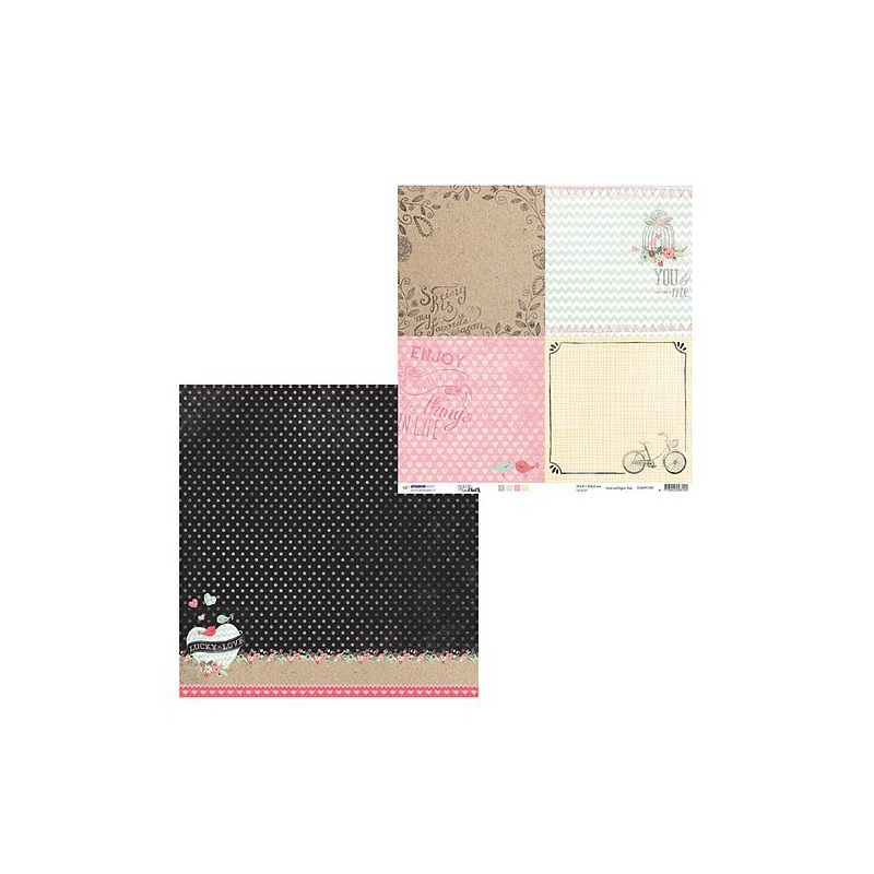 Disainpaber Creative Chalk 02 30,5*30,5 cm