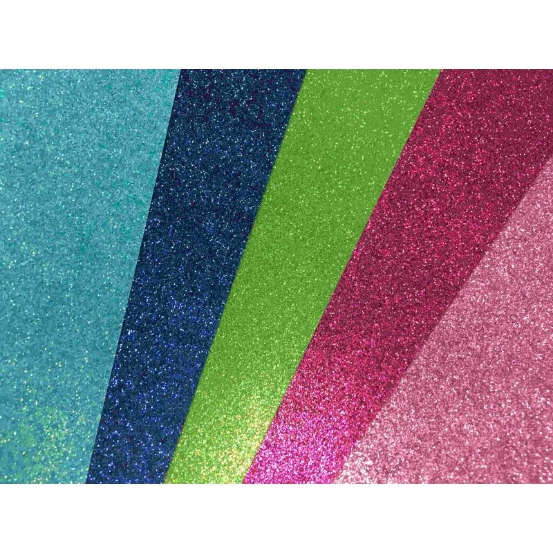 Glitterkartong A4 210g/m2