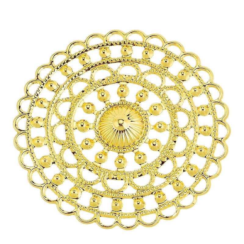 Filigree kuldne 47mm 1tk