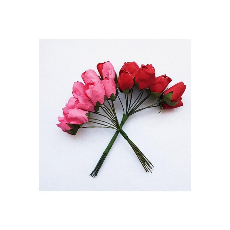 Paberlill tulp 10tk