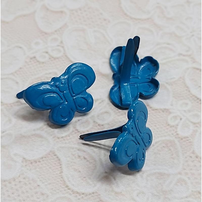 Brädsid sinine liblikas 6tk pakis