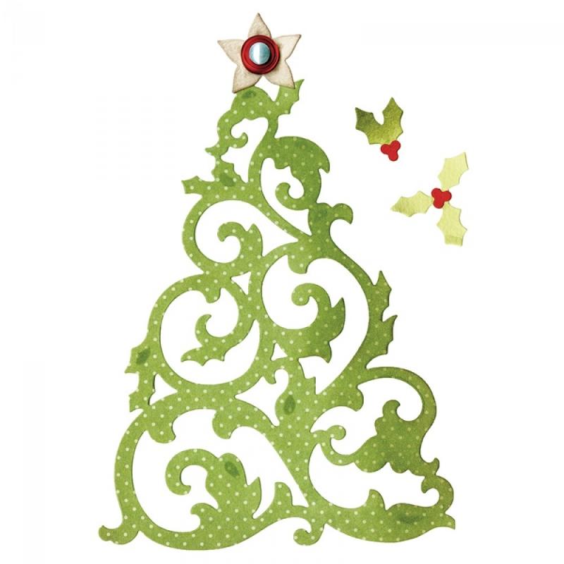 """Sizzix lõiketera """"Jõulupuu"""" 659002"""