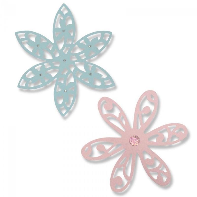 """Sizzix lõiketera """"Lilled"""" 661042"""