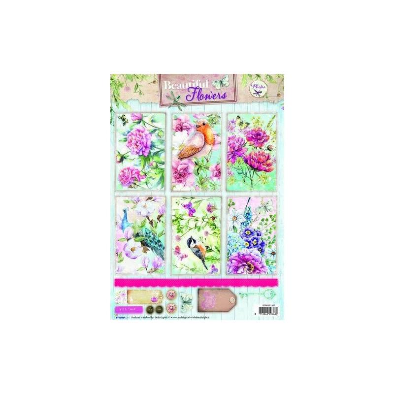 Beautiful Flowers A4 rebitavad pildid 1367