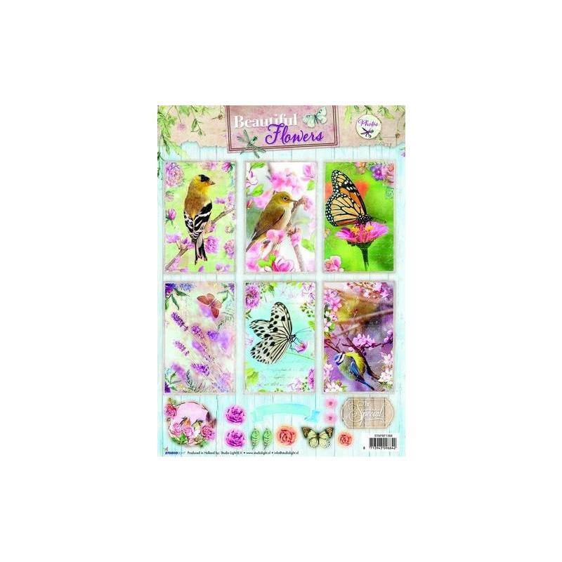 Beautiful Flowers A4 rebitavad pildid 1368