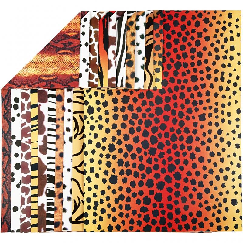 Karong loomamustriline A4 10 lehte