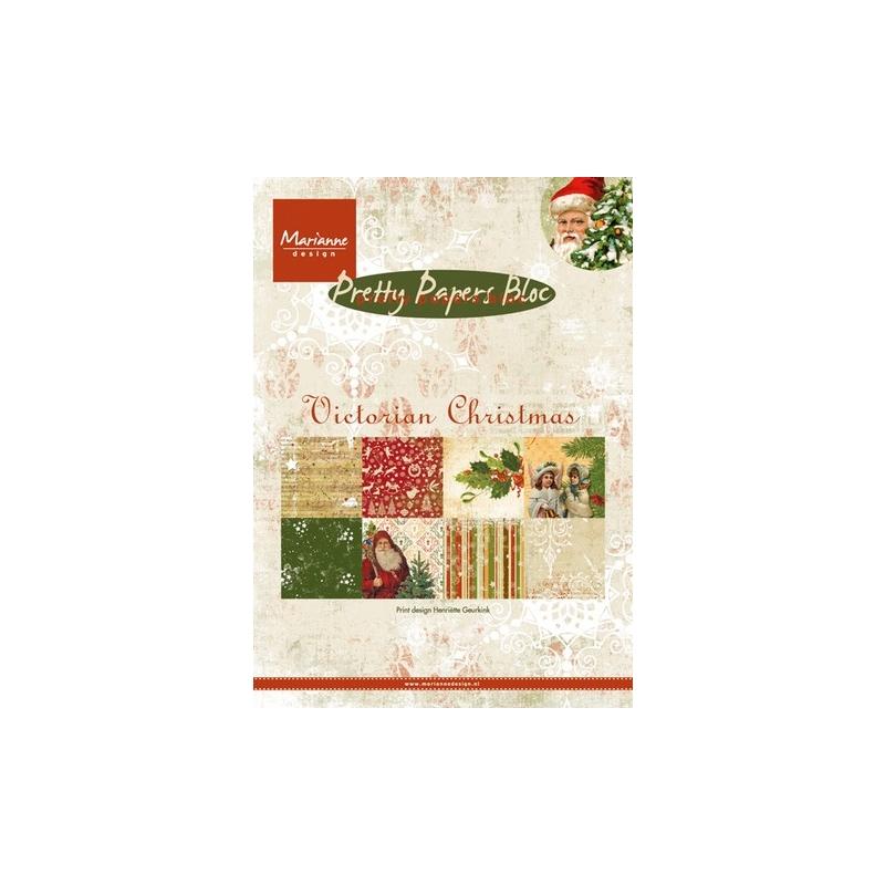 "Paberiplokk ""Victorian Christmas "" 32l A5"