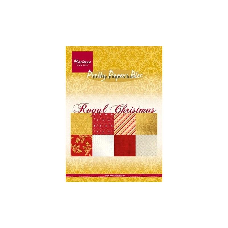 "Paberiplokk ""Royal Christmas "" 32l A5"