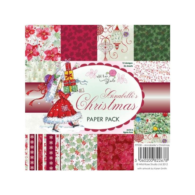 "Paberiplokk 15*15 cm 36l ""Annabelle Jõulud"""