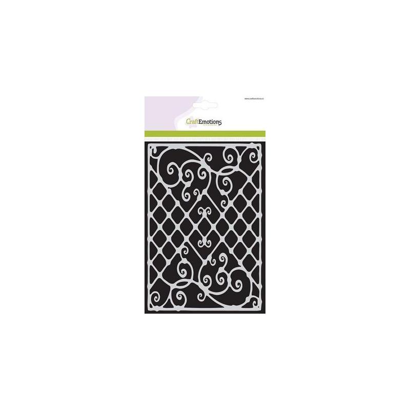 """Šabloon A5 """"Dekoratiivsed trellid"""" 185070/1062"""