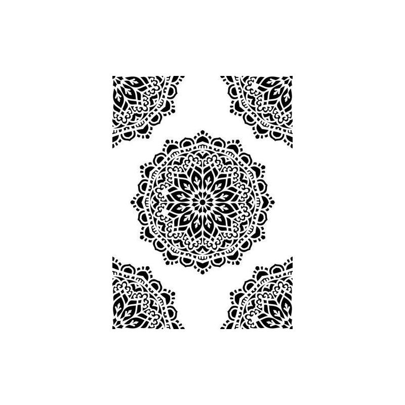 "Šabloon  ""Mandala"" NMMS024"