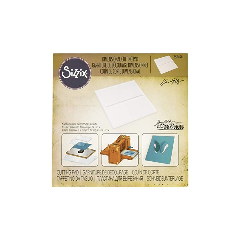 Sizzix piluga plaat - dimensional cutting pad 1tk  656498