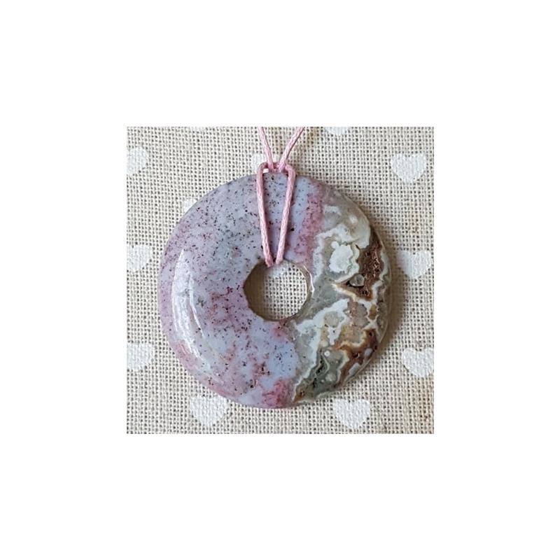 Jaspis ookean donut-ripats 40mm