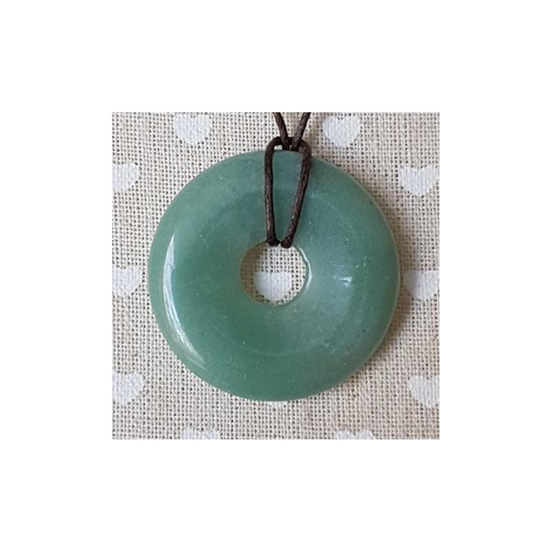 Aventuriin roh. donut-ripats 40mm
