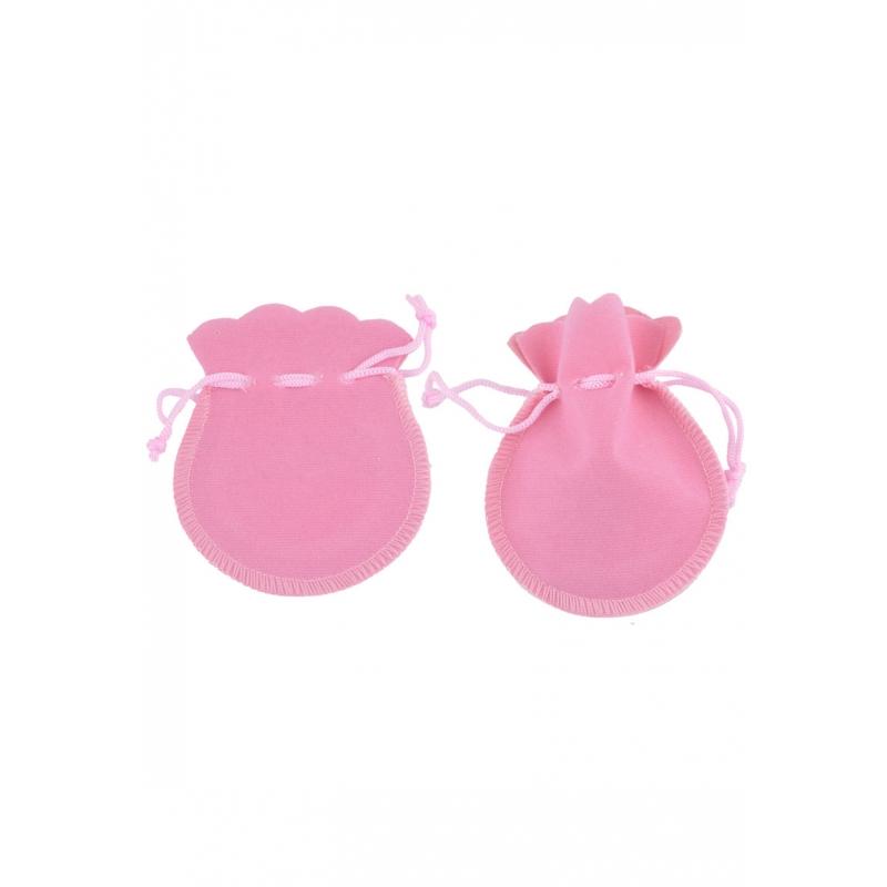 "Kinkekott ""Sametine"" 10*8 cm roosa"