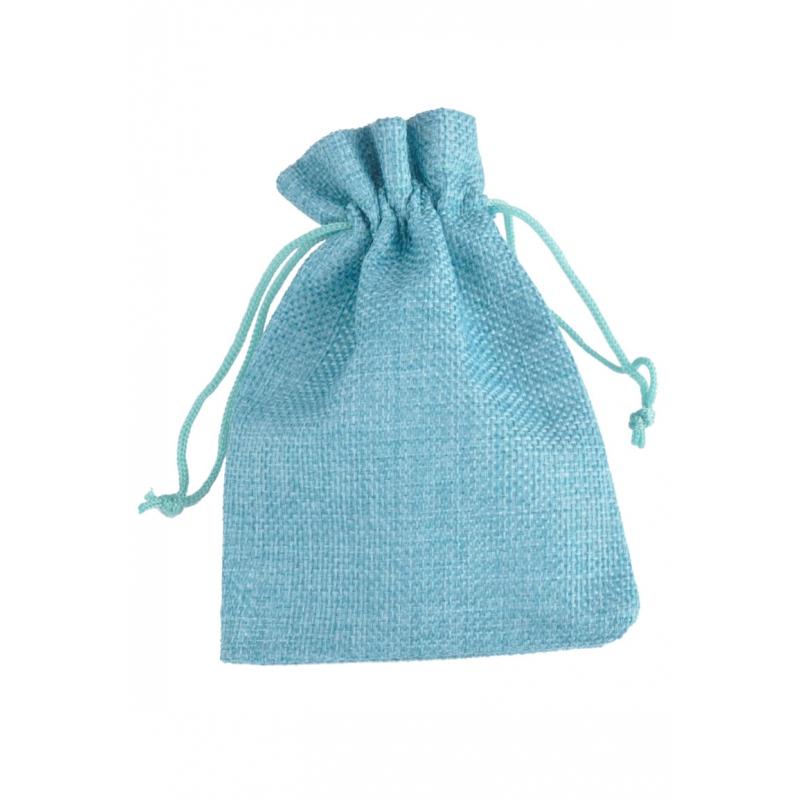 """Kinkekott """"Tekstiil"""" 13,5*9 cm sinine"""