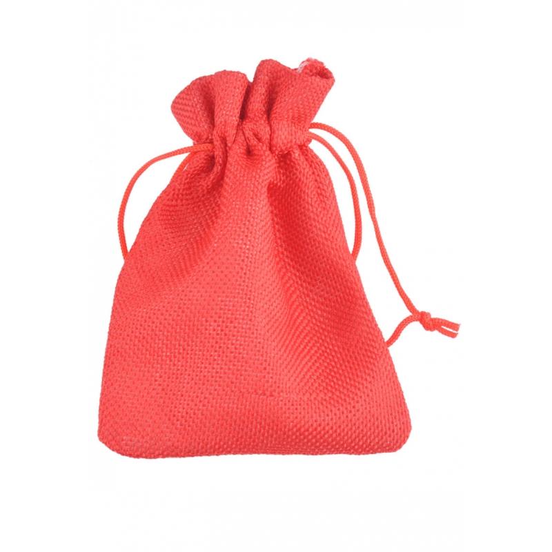 """Kinkekott """"Tekstiil"""" 13,5*9 cm punane"""
