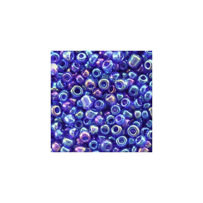 Klaashelmes 2mm AB-läikega sinine 20g