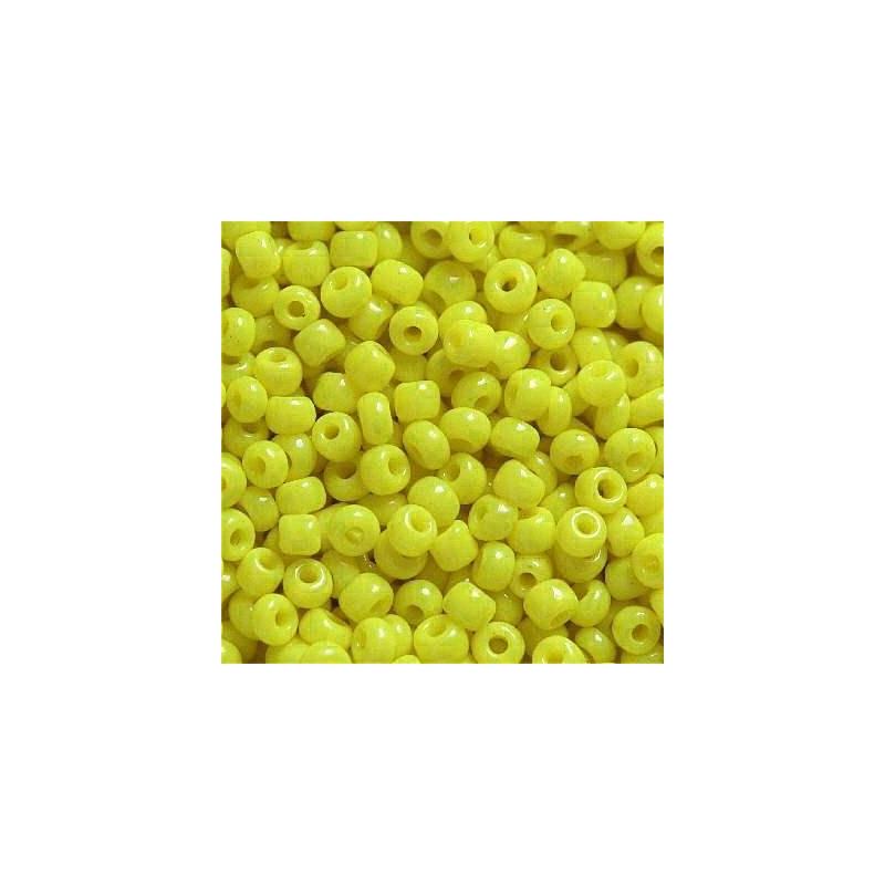 Klaashelmes 2mm läbipaistmatu kollane  20g