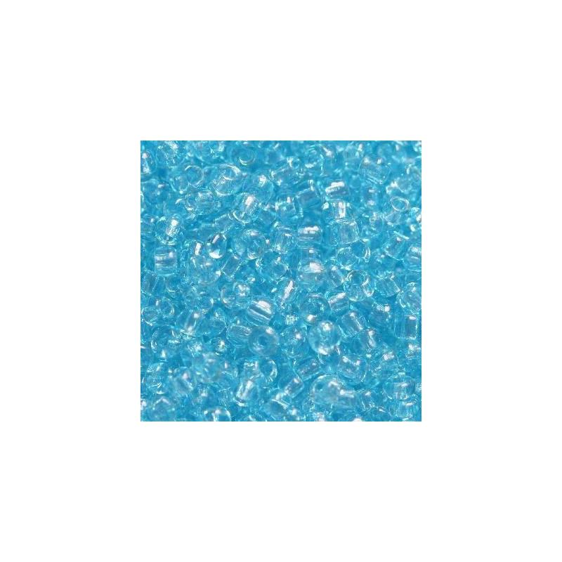 Klaashelmes 2mm läbipaistev helesinine 20g