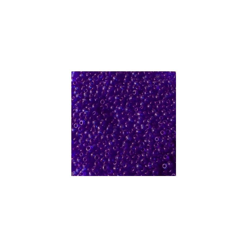 Klaashelmes 2mm läbipaistev indigo 20g