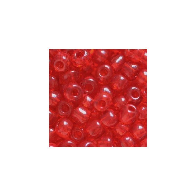 Klaashelmes 3,5mm läbipaistev punane 20g