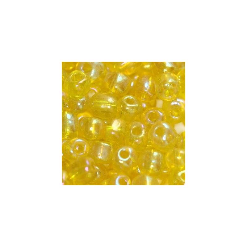 Klaashelmes 3,5mm AB-läikega kollane 20g
