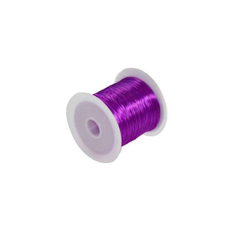 Elastiktamiil 0,6mm 10m lilla