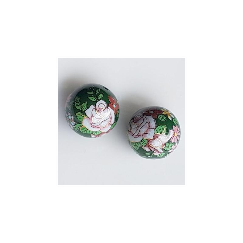 Tensha 16mm tumeroheline helmes roosidega