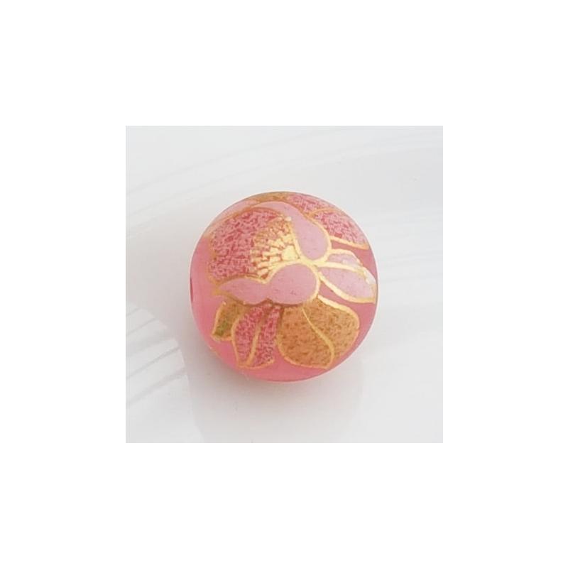 Tensha 16mm matt roosa helmes lillega