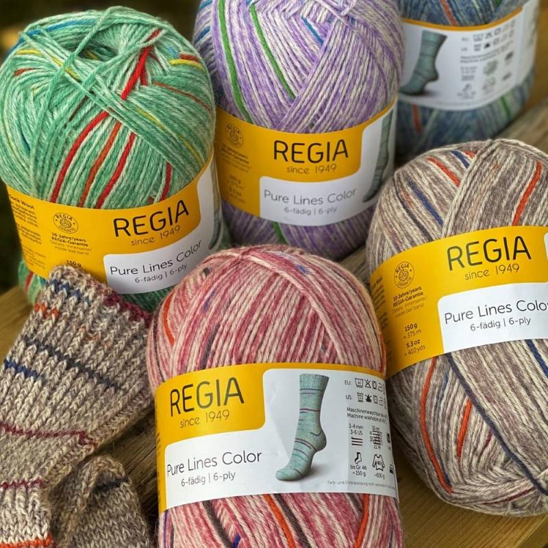 UUS! Regia 6* Pure Lines Color 150g 375m