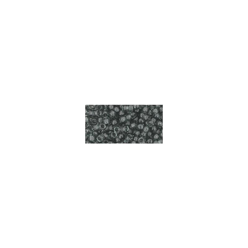 TOHO 8/0 Transparent Gray 10g
