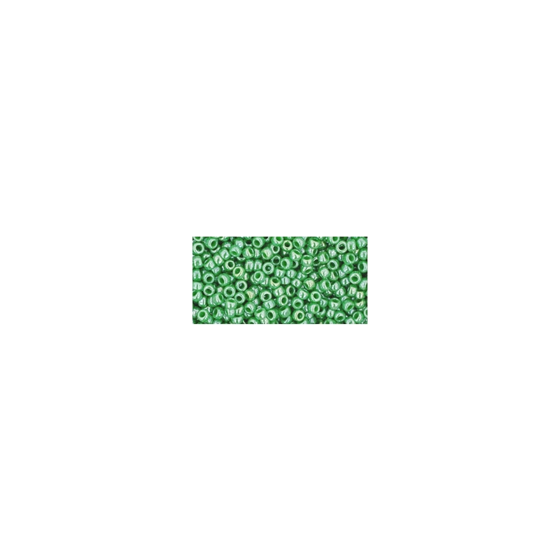 TOHO 11/0 Opaque-Lustered Mint Green 10g