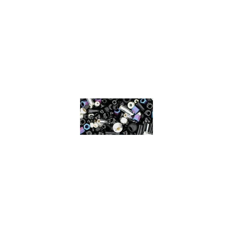 Toho Yozora- Jet/Silver Mix 10g