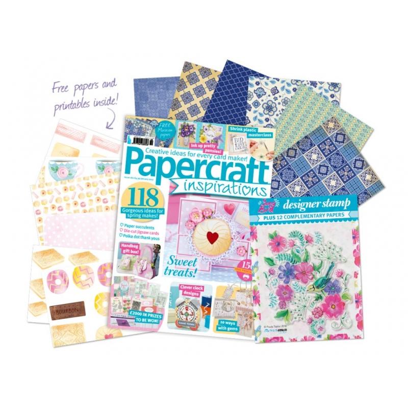 Papercraft Inspirations 160 jaanuar 2017