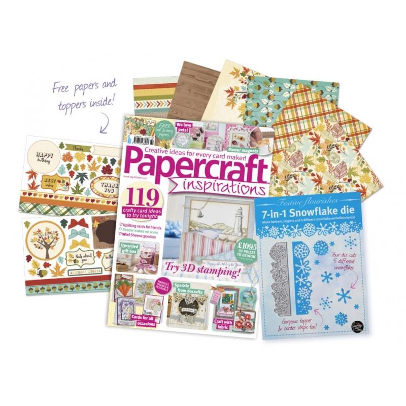 Papercraft Inspirations 169 okt 2017