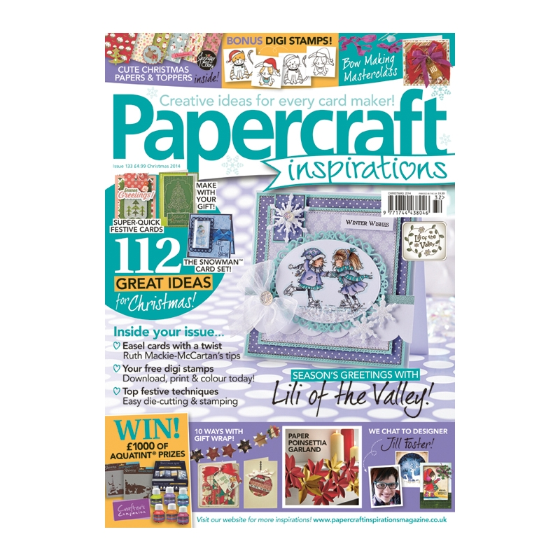 Papercraft Inspirations 133 jõul 2014