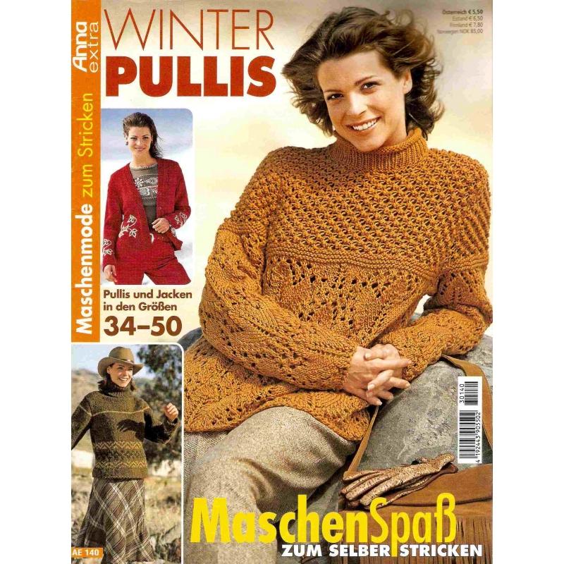 Anna extra Winter Pullis AE 140