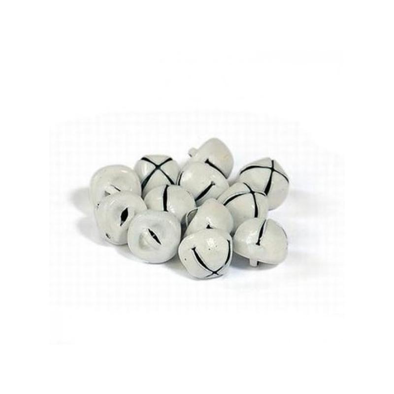 """Kuljused """"valged"""" 10mm * 12 tk"""