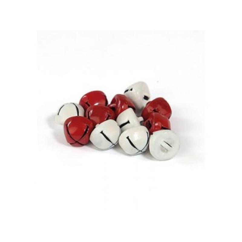 """Kuljused """"punased+valged"""" 10mm * 12 tk"""