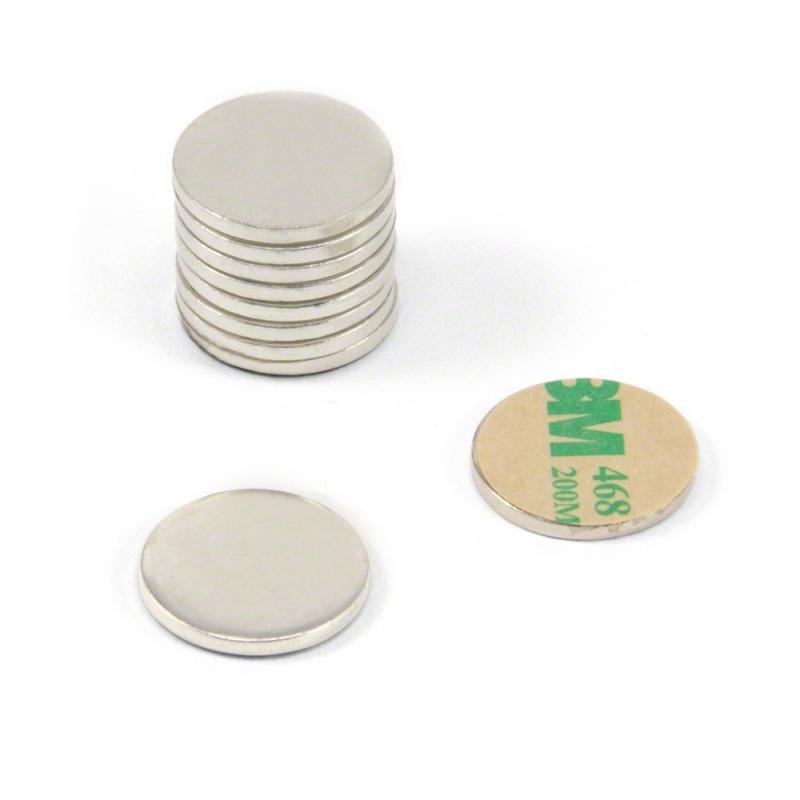 Magnetketas iseliimuv 1cm / 1mm 1tk