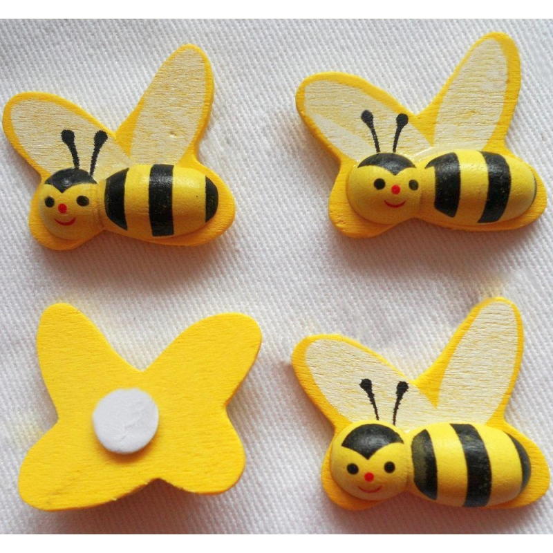 Puidust mesilane 3*2,5 cm 1tk