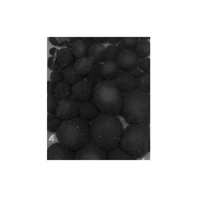 Pom-pom pallikesed must 50 tk 1,0-2,5