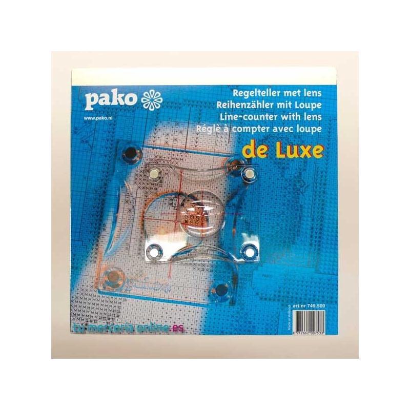 Magnettahvel Pako de Lux suurendusluubiga