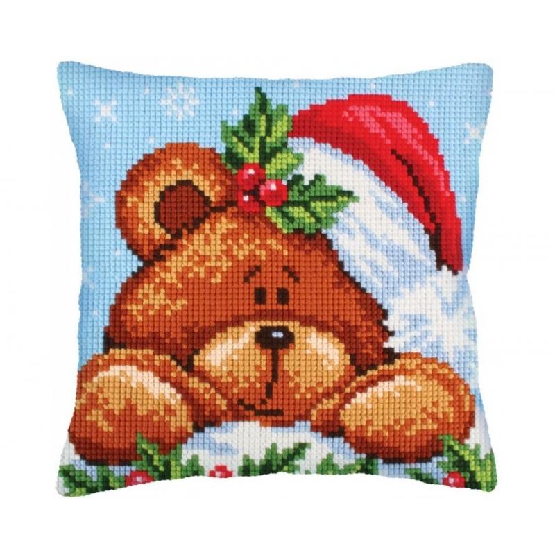 """Padi tikkimiskomplekt """"Teddy jõulud"""" 40*40"""" cm 5240"""